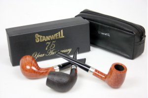 Stanwell 75 Year Anniversary Pipes - SPAR 500 kr.
