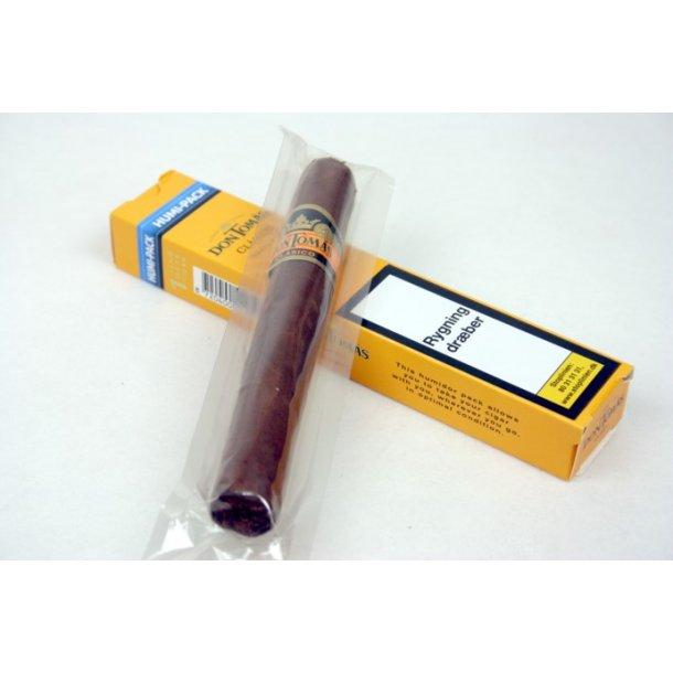 Don Tomás Classico Robusto Håndrullet Cigar. Humi-Pack