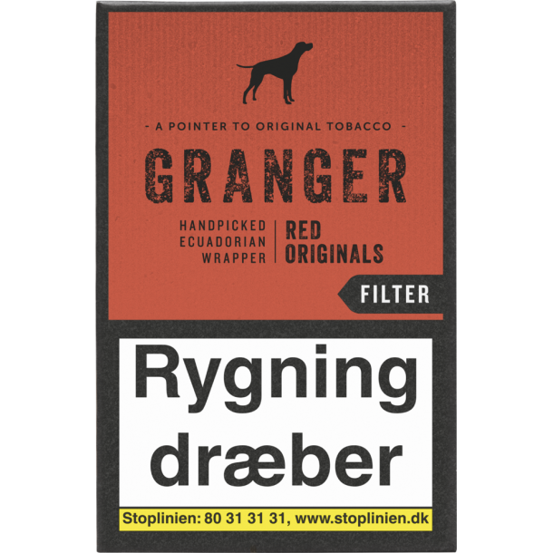 Granger Red Originals Cigarillos
